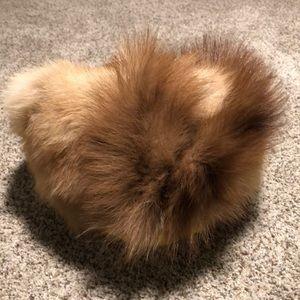 Vintage Round Fur Hat